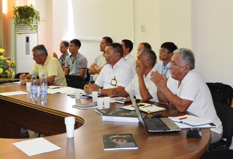 Фото к Круглый стол с ветеранами атомной промышленности РК