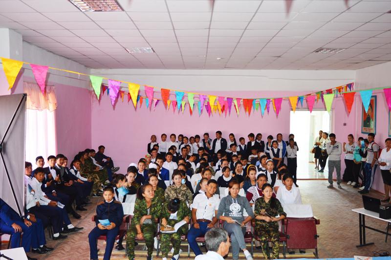 Фото к Выездные туры с лекциями в аулах Бидайкөл и Акмай Шиелийского района Кызылординской области