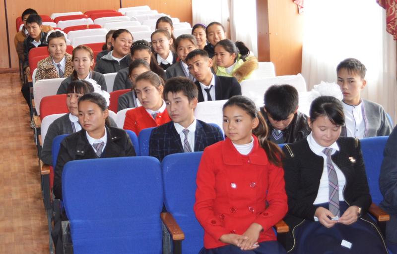 Фото к Выездные туры с лекциями в поселках Кок-сарай, Тимур, Шаульдер Отрарского района ЮКО