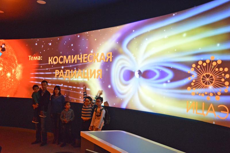 Фото к НТК «Эрудит» : Космическая радиация