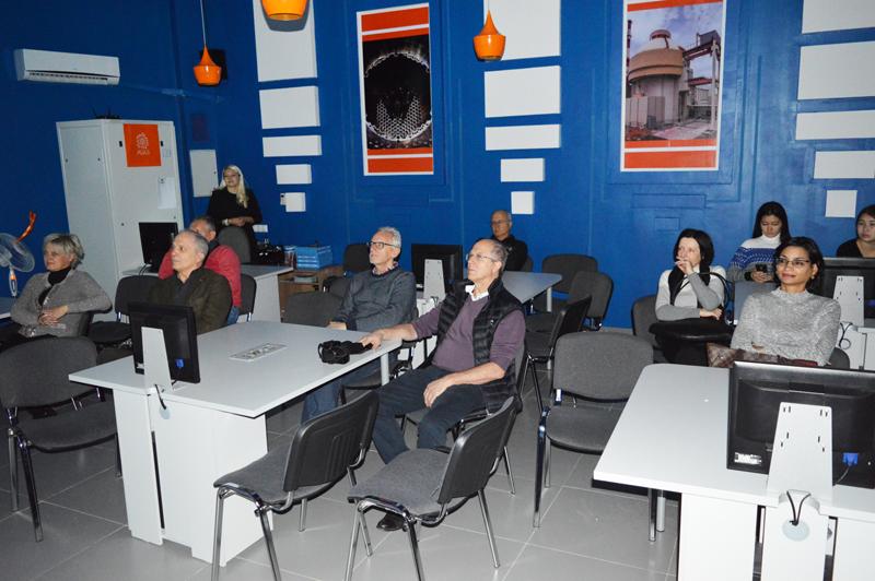 Фото к Эксперты МАГАТЭ посетили ИЦАЭ г.Астана